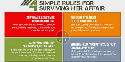 Learn Suzie's Four Rules for Surviving Her Affair